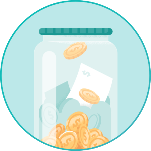 In Store Coin Icon
